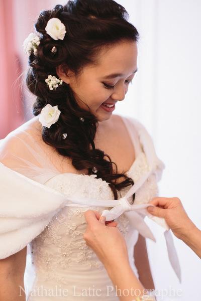 Camille Delattre   maquilleuse coiffeuse mariage Ile de France - Anne-Cécile & Alexandre