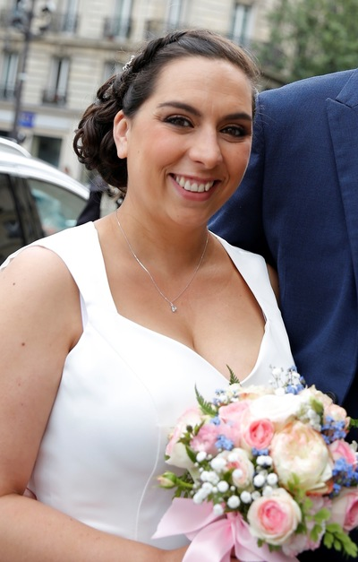 Camille Delattre   maquilleuse coiffeuse mariage Ile de France - Erica & Frédéric