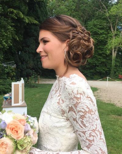 Camille Delattre   maquilleuse coiffeuse mariage Ile de France - Coralie & Matthieu