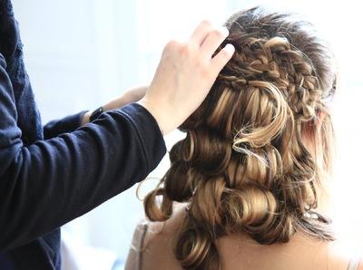Camille Delattre   maquilleuse coiffeuse mariage Ile de France - Paule & Yannick