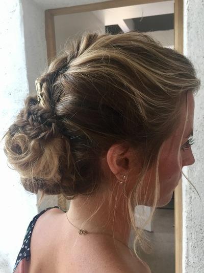 Camille Delattre   maquilleuse coiffeuse mariage Ile de France - Audrey & Victor