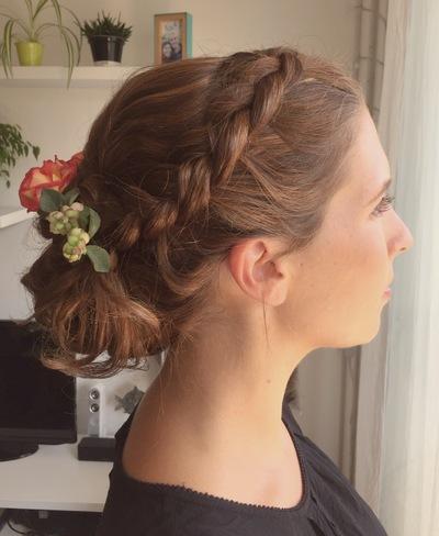Camille Delattre   maquilleuse coiffeuse mariage Ile de France - Diane & Yohann