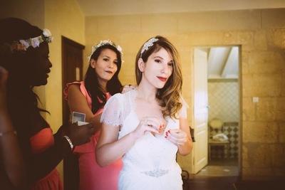 Camille Delattre   maquilleuse coiffeuse mariage Ile de France - Myriam & Arnaud