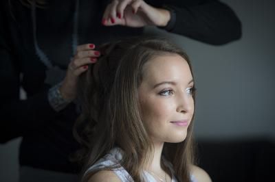 Camille Delattre   maquilleuse coiffeuse mariage Ile de France - Sophie & Louis