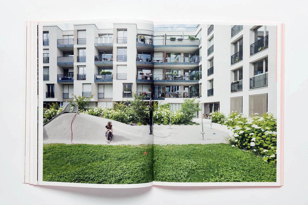 Fotografin Hamburg Reportage Portrait Reise Editorial Corporate Werbung Photography - Cooperative housing area Drei Höfe – Munich Neuhausen