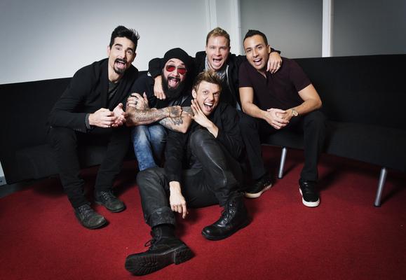 Photographer Anna Tärnhuvud - Backstreet Boys, Aftonbladet