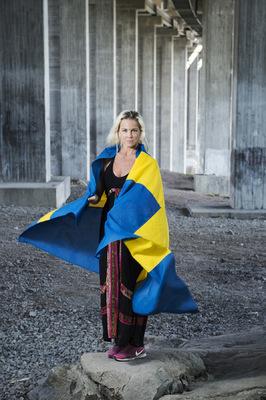 Photographer Anna Tärnhuvud - Malena Ernman, Göteborgsposten