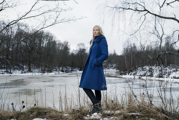 Photographer Anna Tärnhuvud - Åsa Sandell, writer, Aftonbladet