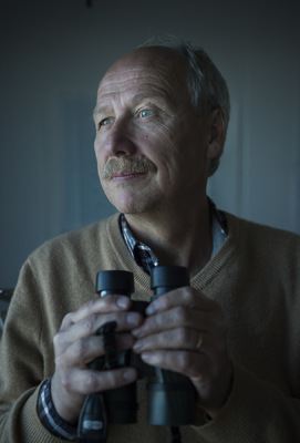 Photographer Anna Tärnhuvud - Professor HC Hansson, climate scientists, Aftonbladet