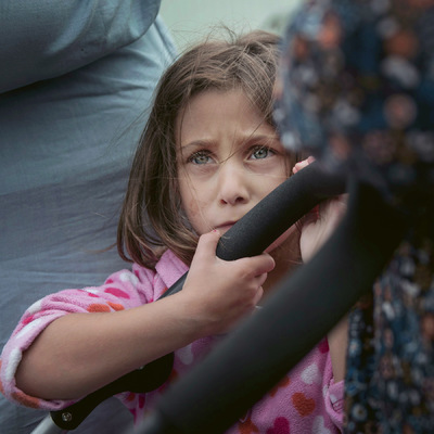 Photographer Anna Tärnhuvud - Sila, 4 years, from Syria