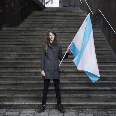 Photographer Anna Tärnhuvud - Mia, transförsvaret