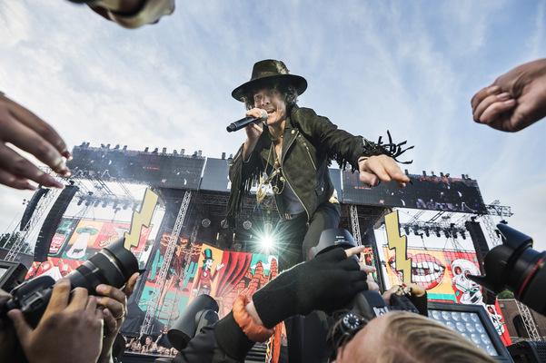 Photographer Anna Tärnhuvud - Håkan Hellström at Stadion, Stockholm 2017.