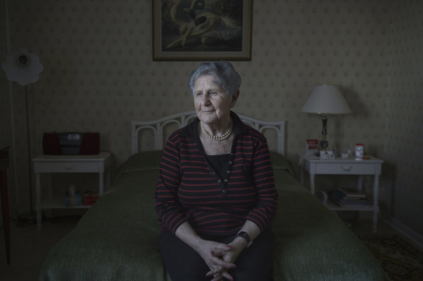 Photographer Anna Tärnhuvud - Cyla Trus, survivor of the holocaust