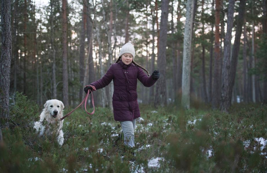 Photographer Anna Tärnhuvud - Greta Thunberg, for Rollingstone Magazine.