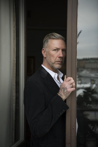 Photographer Anna Tärnhuvud - Mikael Persbrandt, actor. Göteborgs-Posten
