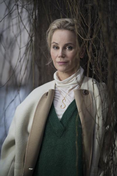 Photographer Anna Tärnhuvud - Sofia Helin, actress. Göteborgs-Posten