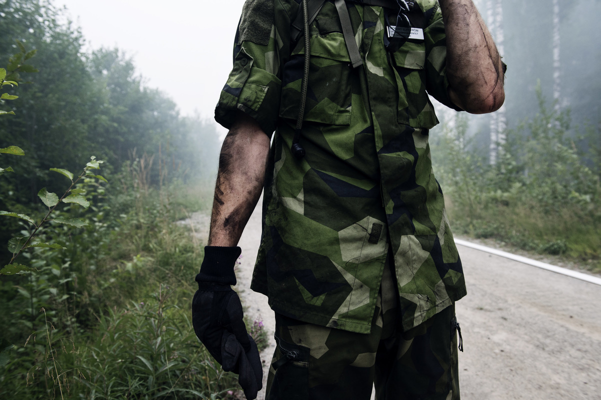 Photographer Anna Tärnhuvud - The summer of 2014 Sweden was fighting against the biggest forest fire in modern times.