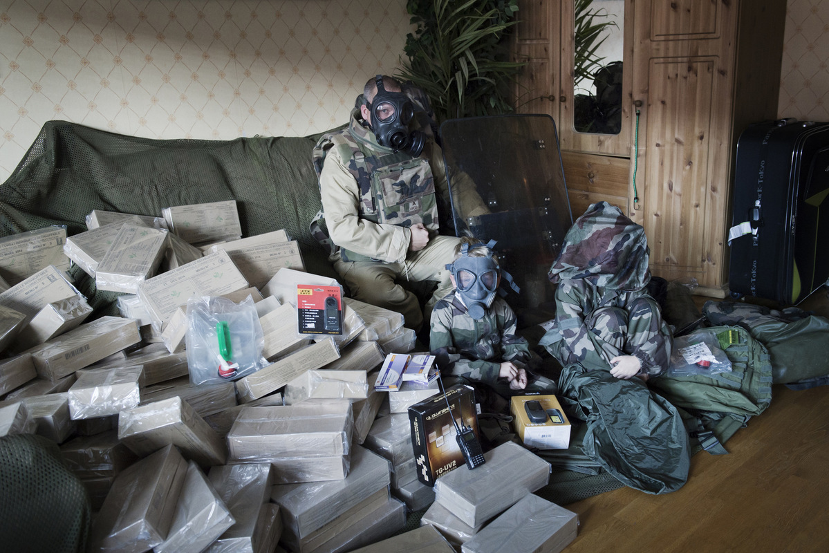 Photographer Anna Tärnhuvud - In Sweden there are several people, called Preppers - that do not rely on the social safety net if a disaster would strike. In a town in central Sweden live a family who have taken matters into their own hands.