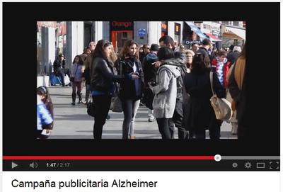 Nuria Cuenca - Guerrilla action & Alzheimer