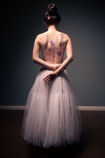 marc.reimann.foto - back of beautyful girl wearing tutu