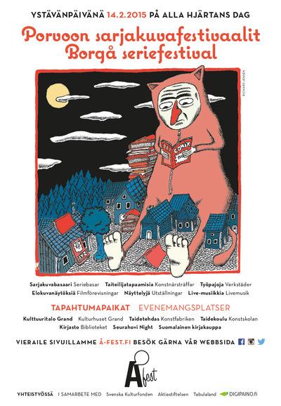 Richard Jensen - Å-fest: Porvoo Comics Festival