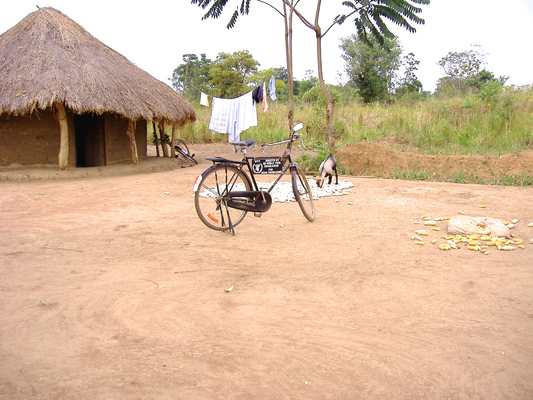 Education & Health Trust Uganda - A bicycle in Ojama
