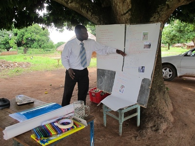Education & Health Trust Uganda - Health information in the Memory Book