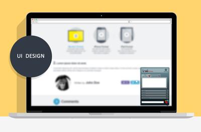 ODT - Trail - UI design
