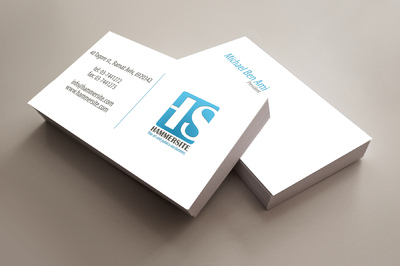 ODT - Hammersite - business card design