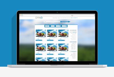 ODT - Dyno - web design