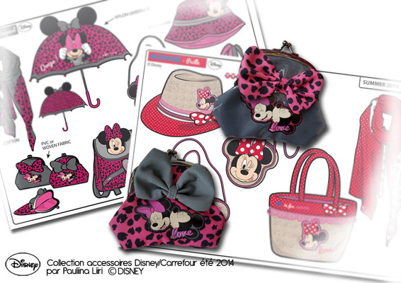 PAULIINA LIIRI - DESIGNER - Girls accessories summer 2014 for Disney & Carrefour