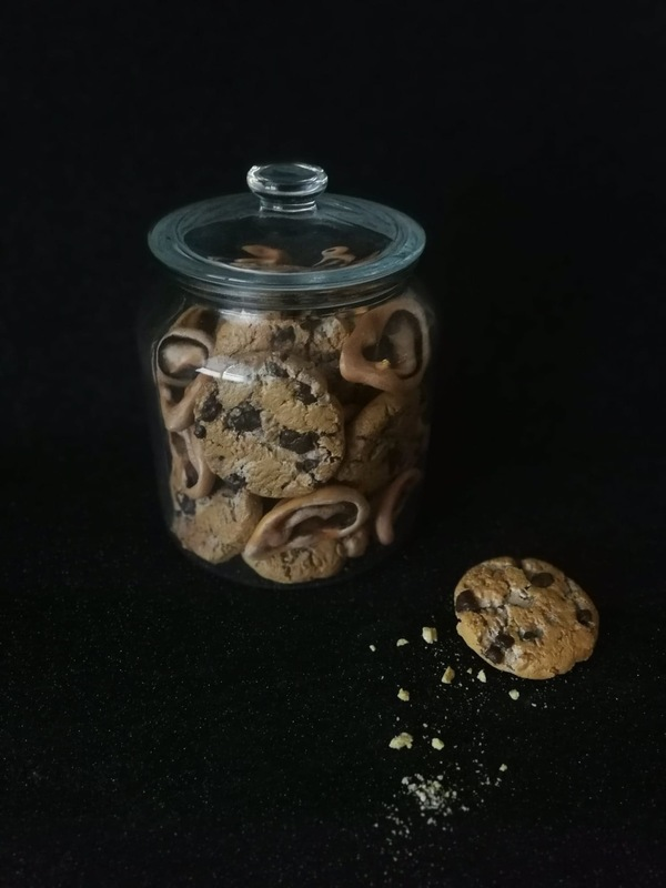 agnesbovis - Les cookies de Vincent issu de la série de sculpture Étrangeté sucrée En hommage à Vincent Van Gogh... 🍪👂