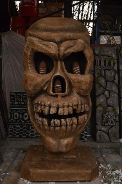 agnesbovis - Crâne aux pierres de Sankara