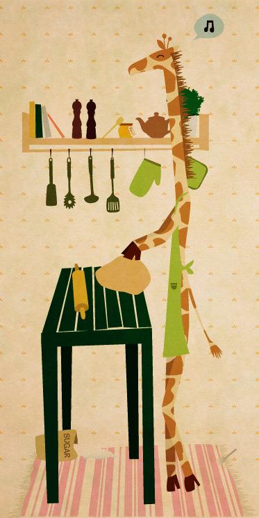 Hannes illustrationer - KONSTIGA DJUR