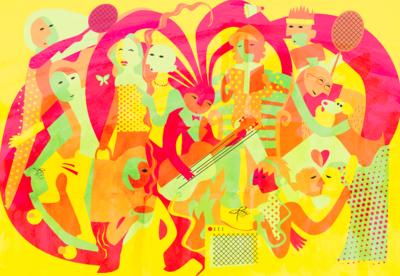 Hannes illustrationer - HALVABSTRAKT