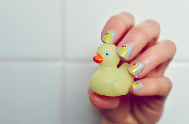Blown A Wish Photography - Rubber Duck Nails (2013)