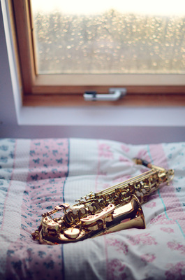 Blown A Wish Photography - Saxophone on my Bed (2014)