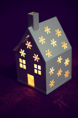 Blown A Wish Photography - Snowflake House Lantern (2014)