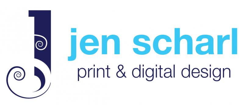 jen scharl print & digital design