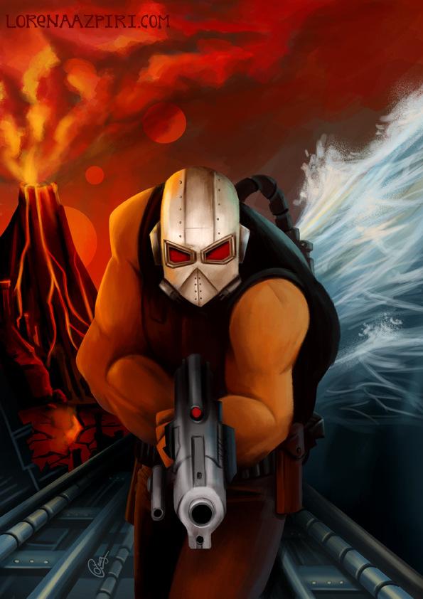 Illustrations Lorena Azpiri - Galactic Tomb Cover ---------------------------- Portada para el juego Galactic Tomb