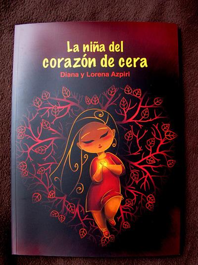 Illustrations Lorena Azpiri - La Niña del Corazón de Cera cover