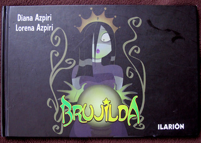 Illustrations Lorena Azpiri - Brujilda cover