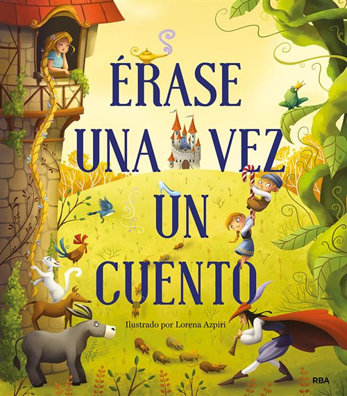 Illustrations Lorena Azpiri - Erase una Vez Cover