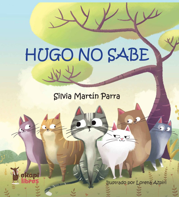 Illustrations Lorena Azpiri - Hugo no Sabe cover