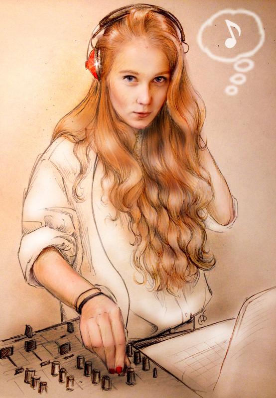 Illustrator Belova Darya - Alexandra Fedorova