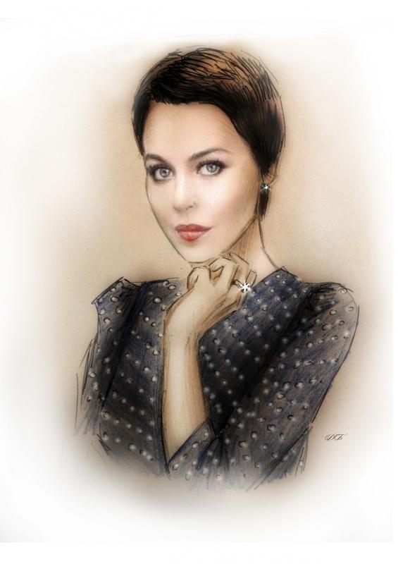 Illustrator Belova Darya - Ulyana Sergeenko