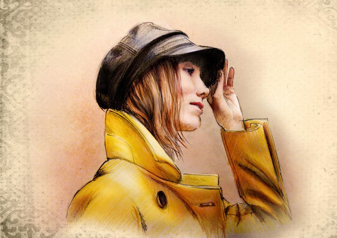 Illustrator Belova Darya - Anya Ziourova