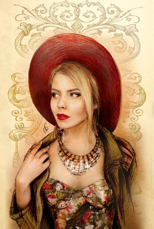 Illustrator Belova Darya - Elena Lentc
