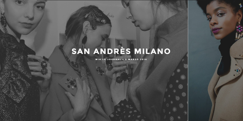 HOLDEN PHOTOGRAPHER - SAN ANDRES MILANO F/W 16/17