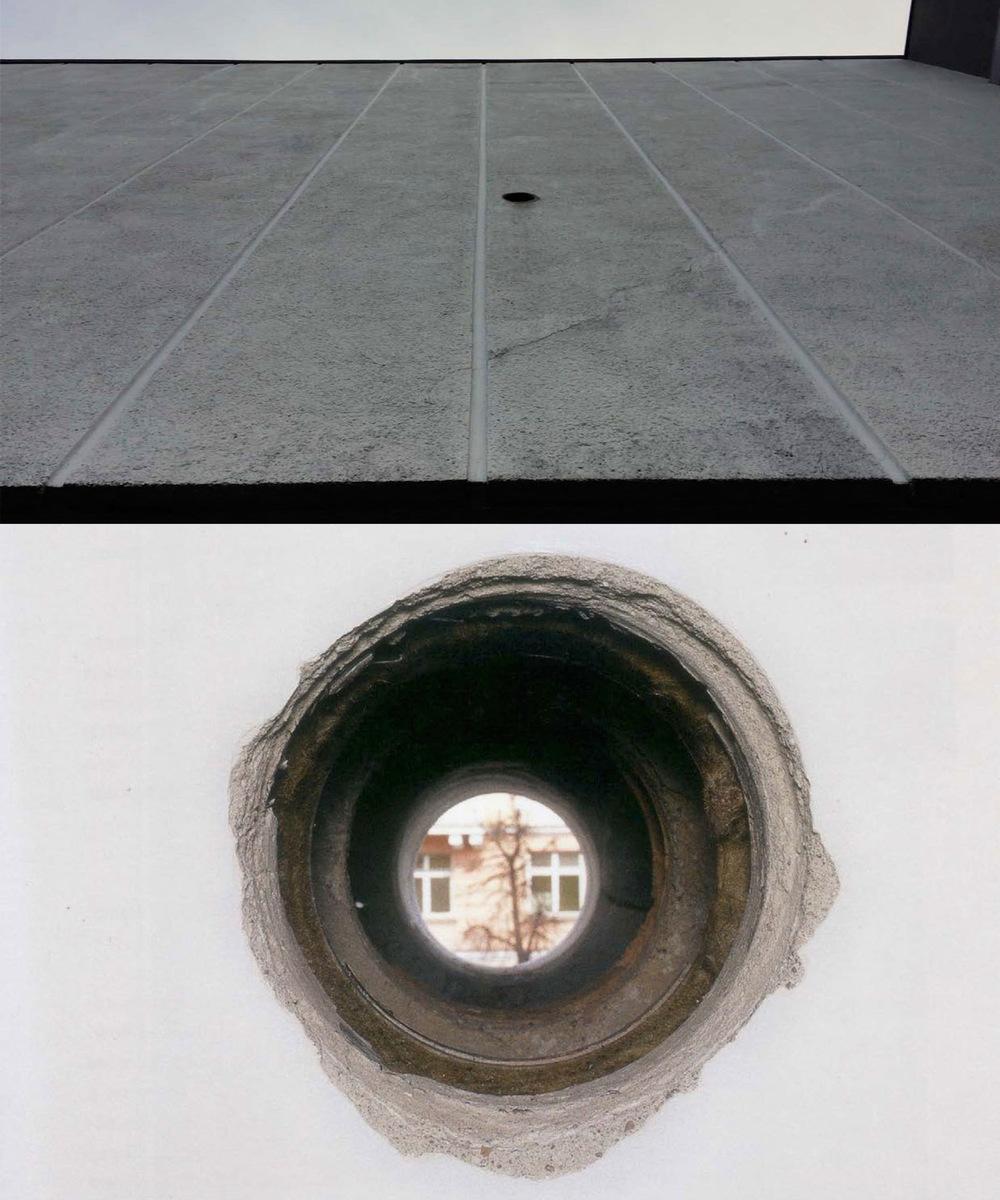 modestas portfolio - INSTALLATION INTEGRATION for EXHIBITION WALLS FOR NATO Contemporary Art Centre, Vilnius (2001) Co-authors: G Kuginys, T. Rasiulis